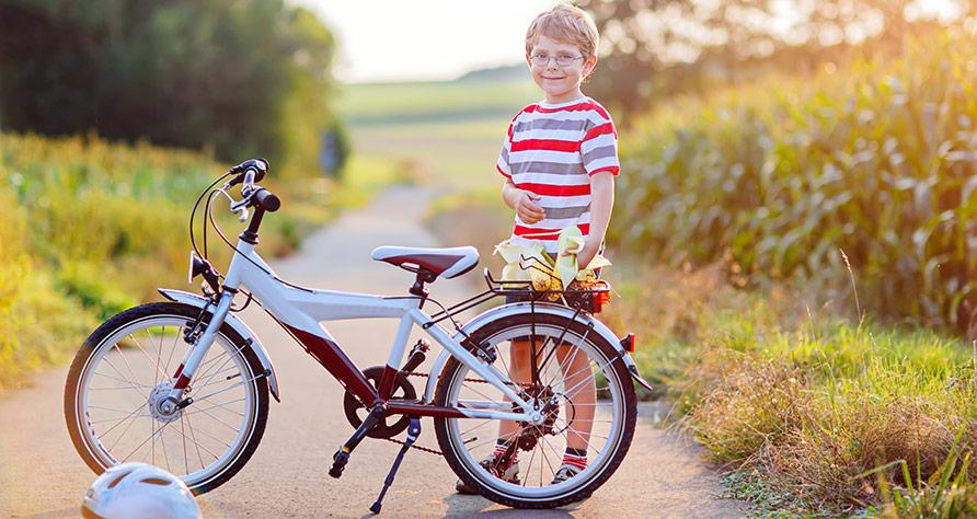 Att införskaffa en barncykel
